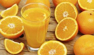 Orangensaft ist gesünder als die Frucht selbst