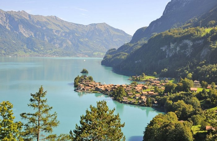 Bild 11 Seen In Der Schweiz Brienzersee