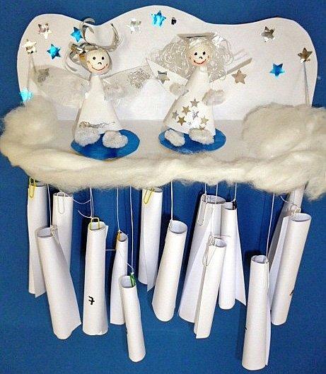 bild 8 adventskalender basteln die engelswolke aufh ngen. Black Bedroom Furniture Sets. Home Design Ideas
