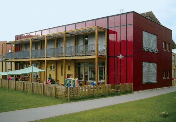 bild 8 baustoff kalksandstein kindergarten aus kalksandstein. Black Bedroom Furniture Sets. Home Design Ideas