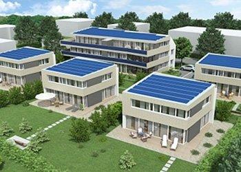 Wohnen wie in einer Oase: Einmalige Plusenergiehäuser in Tägerwilen