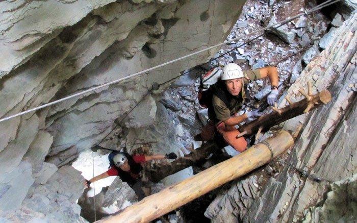 Klettersteig Uri : Bild: 4 klettersteig hexensteig hält kleine Überraschungen bereit