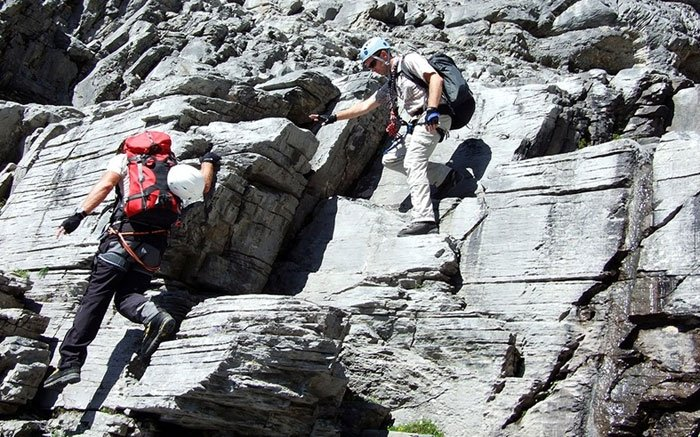 Klettersteig Rotstock : Bild: 3 klettersteig rotstock: tolles erlebnis für wahre