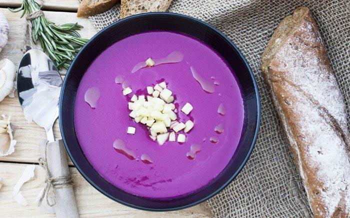 bild 5 kalte suppen feine kr ftige suppe aus frischen randen. Black Bedroom Furniture Sets. Home Design Ideas