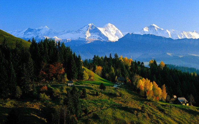 Bild: 4 - Tageswanderung mit atemberaubendem Bergpanorama auf der Lüderenalp
