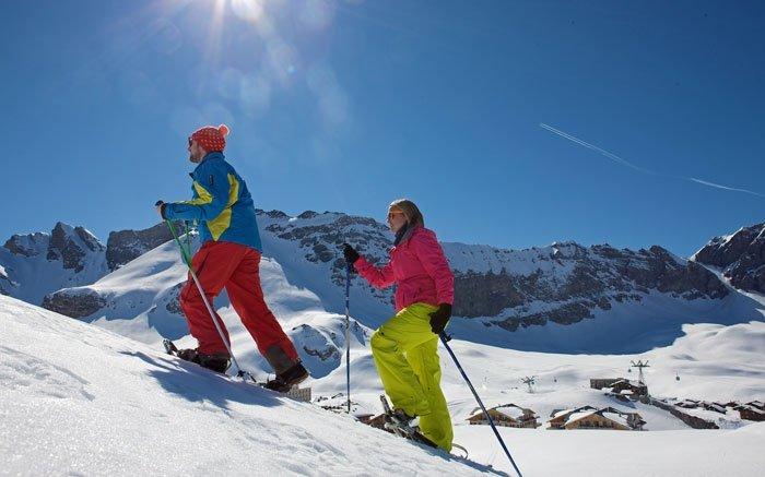 Schneeschuhlaufen auf 5 verschiedenen Touren in Melchsee-Frutt