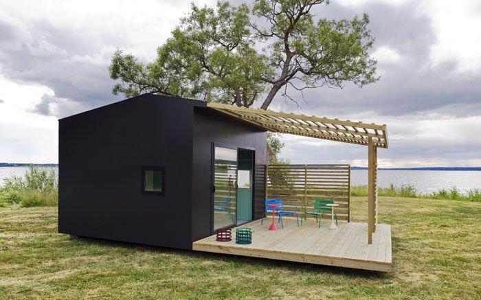 Bild: 4 - Mini Häuser werden vorgefertigt geliefert und gleich ...
