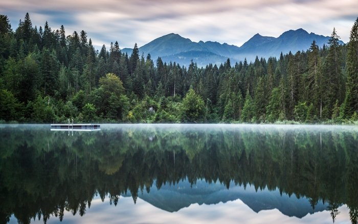 Stille Wasser sind tief: Baden Sie im wunderschönen Crestasee