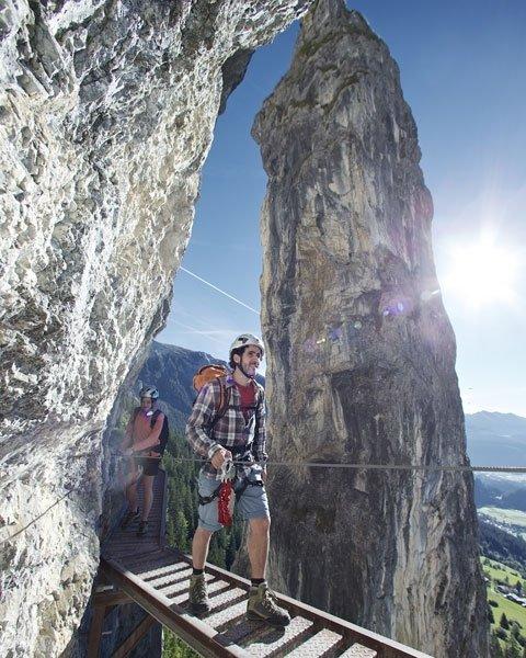 Bild: 9 Coole Ausflüge: Klettersteig