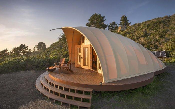 Wohnen Im Zelt : Glamping dieses zelt zeigt wie campen mit komfort geht