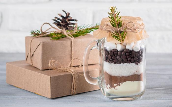Bild: 13 - Geschenke aus der Küche: Heisse Schoggi im Glas