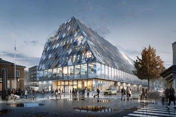 Växjö «Grünste» Stadt Europas plant neues Stadtzentrum