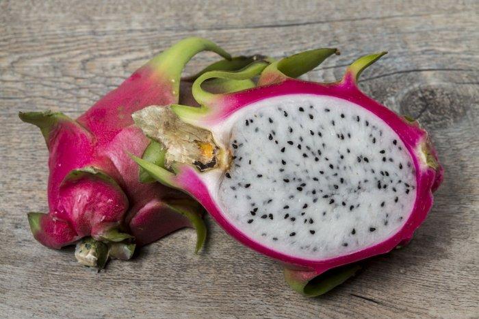 Exotische Früchte: Drachenfrucht