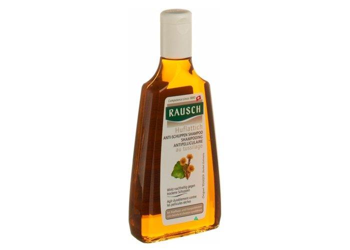 Wer beim Shampoo-Kauf auf Nummer sicher gehen möchte, kann sich auf die Produkte des Schweizer Profis für Haarpflege verlassen. Die Firma Rausch stellt mit dem Antischuppen Shampoo Huflattich ein Shampoo im Test, das dank seiner milden Inhaltsstoffe brillieren kann. Foto: gesehen bei www.adlershop.ch