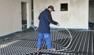 Mit der Fussbodenheizung Energie und Kosten sparen