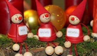 Weihnachtsdeko aus Natur- und Recyclingmaterial basteln