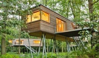 Wohnen im Grünen: Baumhäuser machen Kindheitsträume wahr