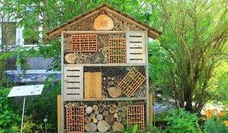 Ein Haus für Nützlinge im Garten kaufen oder einfach selbst machen