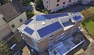 Erstes Minergie-A-Eco-Haus aus Luzerner Weisstanne