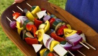 Vegetarisch Grillieren: Mit Gemüse, Käse und Tofu