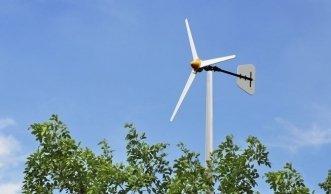 Mit dem Windrad zu Ökostrom aus dem eigenen Garten