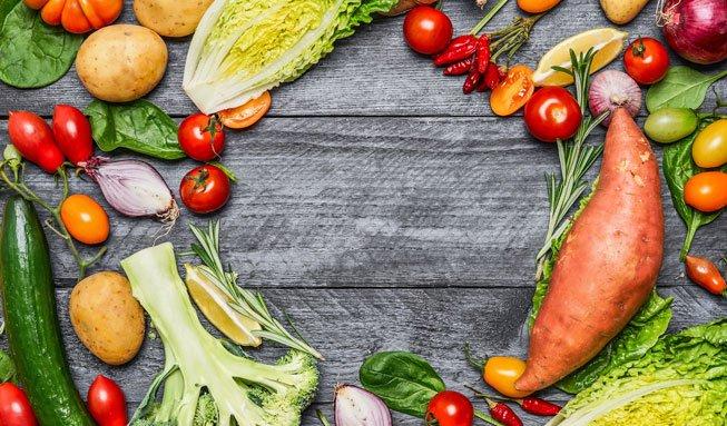 Gesund essen mit Obst und Gemüse vom Online-Hofladen