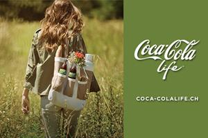 Coca-Cola Life - natürlich schmeckt's!