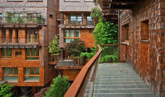Wohnen im City-Baumhaus: «25 Verde» holt den Wald in die Stadt