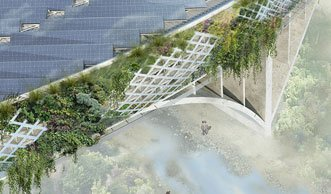 Diese Brücke frisst CO2 und produziert Strom