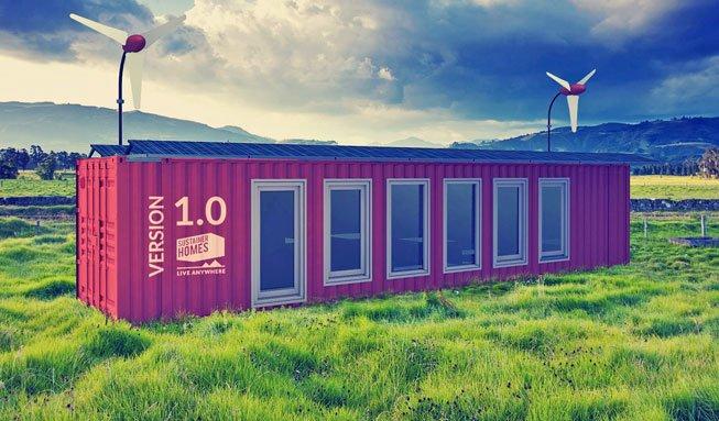 Unabhängig und komfortabel wohnen im nachhaltigen Container-Haus