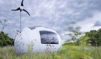 Alles auf 8 m²: Einmalig und autark wohnen in der Ecocapsule