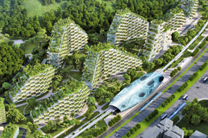 Forest City: Diese grüne Stadt soll Chinas Smog den Kampf ansagen
