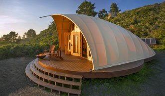 Dieses Zelt zeigt, wie Campen mit Komfort geht