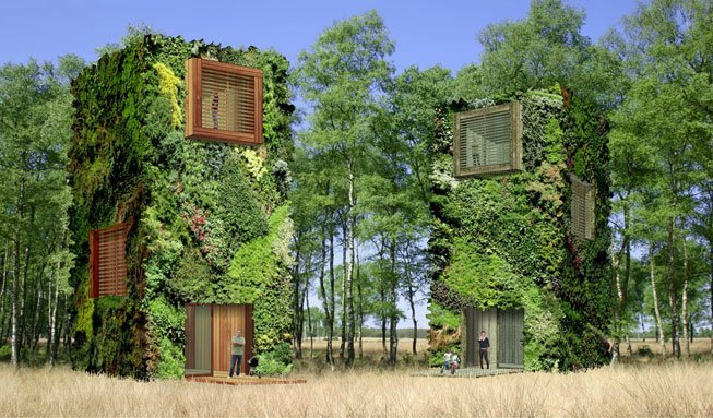 Wald oder Wolkenkratzer? So lebendig ist das Wohnen der Zukunft