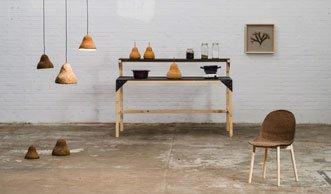 Aus Alge wird Öko-Möbel: Dieses innovative Design ist Natur pur