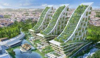 Wie aus alten Industriegebäuden ein lässiges Öko-Quartier wird
