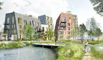 Ein Quartier aus Holz: So cool wird die «Timber Town» in Schweden
