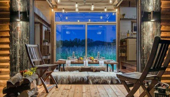tiny homes das minihaus alpha ist eine komplette luxuswohnung. Black Bedroom Furniture Sets. Home Design Ideas