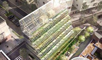 Diese Vertical Farm kann ein ganzes Quartier mit Gemüse versorgen