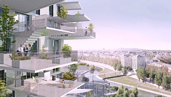 Moderne architektur white tree nutzt baum als vorbild for Moderne architektur