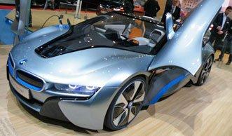 Innovative Erdgas- und Elektro-Autos auf dem Auto Salon Genf 2013