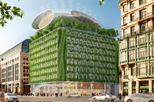 Wie ein Betonklotz zur grünen Oase mitten in der Stadt wird