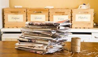Papier sparen hilft der Umwelt und dem Portemonnaie