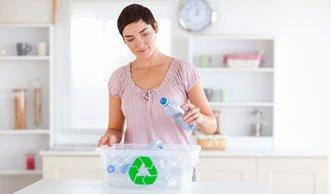 Recycling von Kunststoffen ist eine umweltfreundliche Einweglösung