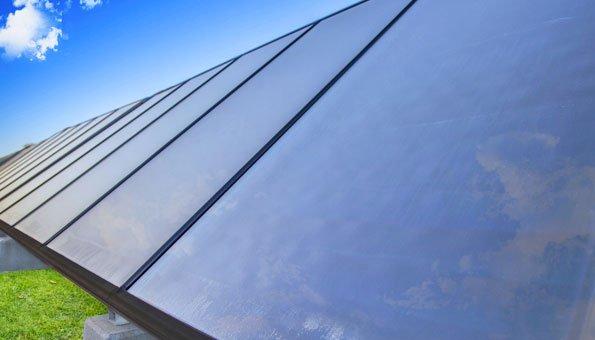 Solarthermie ist nachhaltig und spart Energie.