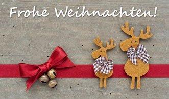 Weihnachtskarten selbst basteln ist nachhaltig und macht Spass