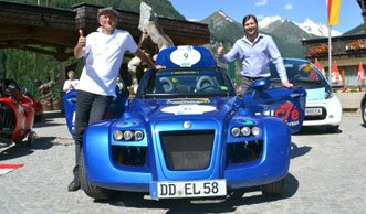 Grösste Elektroauto-Rallye kommt in die Schweiz