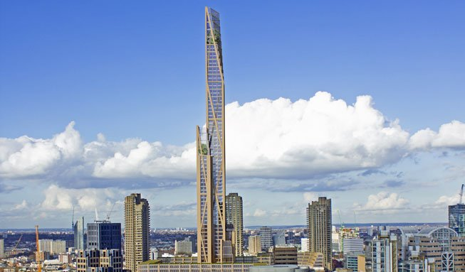 80 Stockwerke aus Holz: London bekommt riesigen Öko-Wolkenkratzer