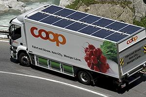 CO2 verringern, aber wie? Die Lösung: Elektrolastwagen