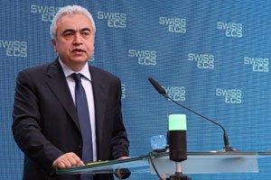 Fatih Birol, Chefökonom der Internationalen Energieagentur IEA am SwissECS